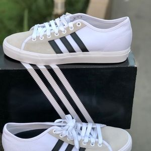 adidas Matchcourt RX White & Black Shoes